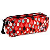 Premier Stationery''Raindrops'' Twin Zip Pencil Case