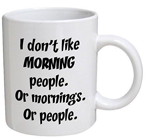 Funny Mug morning mornings Inspirational product image