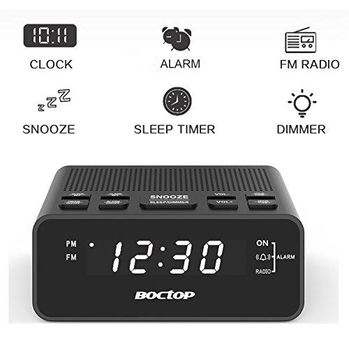 The 8 best clock radios with sleep timer
