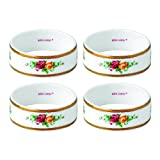 Royal Albert Old Country Roses Napkin Ring (Set of 4), 2.2'', Multicolor