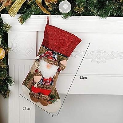 Colgante de pared de decoración navideña, ventana de escalera de árbol de Navidad, decoración de chimenea junto a la cama, muñeco de nieve de anciano, bolsa de regalo de ciervo, enviar novia,
