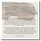 3dRose ht_157881_3 The Touch of The Masters Hand Inspirational Poem Violin Background Iron on Heat Transfer Paper for White Material, 10 by 10-Inch