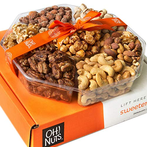 Oh! Nuts Holiday Gift Basket, Ro...