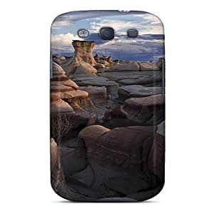 Fashionable LERWnBo1629QRwGZ Galaxy S3 Case Cover For Amazing Rocky Lscape Protective Case