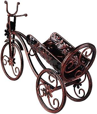 WOYQS Botelleros Bicicleta Estante De Vino De Metal Estante De ...