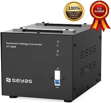 Amazon.com: SEYAS - Transformador de voltaje automático de ...
