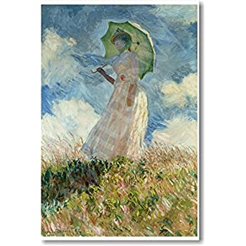 Study of a Figure Outdoors (Facing Right) by Claude Monet