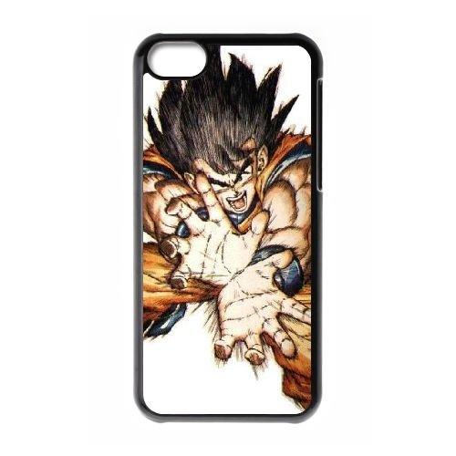 Dragon Ball Goku QQ47AC5 coque iPhone Téléphone cellulaire 5c cas coque J3VT8U1JM