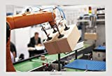robotic human arm - Supersoft Fleece Throw Blanket Robotic Arm For Packing 139813588