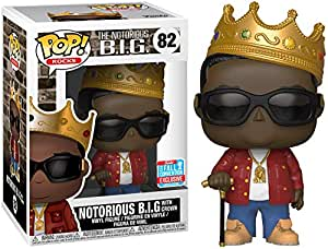 Funko Pop! Rocks Notorious B.I.G 2018 NYCC Shared Exclusive