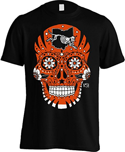 America's Finest Apparel Cincinnati Sugar Skull - Men's (XL) Cincinnati Sugar