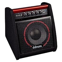 ddrum DDA50 Electronic Percussion Amplifier, 50 Watts,Black