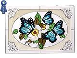 Butterflies, V-228 Art Glass