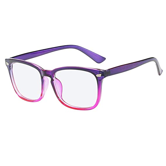 Cebbay Retro Anteojos Lente Claro Gafas para Mujer y Hombre ...