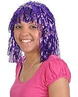 Purple Tinsel Wigs (1 dz)
