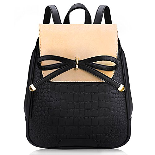 Tan Leather Womens Mini - Backpack Purse, COOFIT Mini Leather Backpack Small Fashion Backpack Casual Daypack For Women