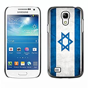 Shell-Star ( National Flag Series-Israel ) Snap On Hard Protective Case For Samsung Galaxy S4 MINI / i9190 / i9192