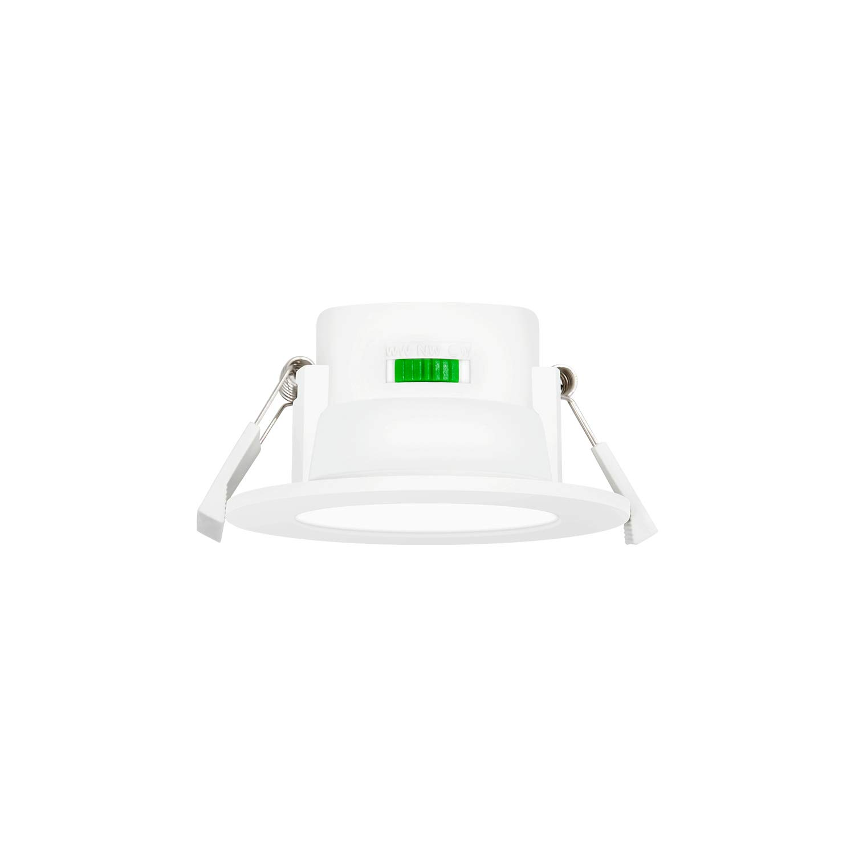 Lampade Plafoniere Faretti da Incasso a LED Soffitto 8W Dimmerabile Colore Luce Regolabile 3000K 4000K 5000K IP44 Diametro del Foro Soffitto 70-85MM Lot di 3 di Enuotek