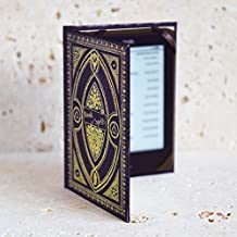 Harry Potter themed Book of Spells Kindle Cover (Hufflepuff Black)