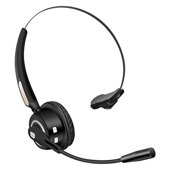 58dd2af7e31 Image Unavailable. Image not available for. Color  Truck Driver Bluetooth  Headset Office Wireless headphones Mic Noise Canceling ...