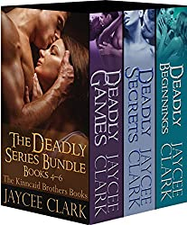 The Deadly Series Bundle #2: The Kinncaid Brothers Books 4-6 (Deadly Series Bundles)
