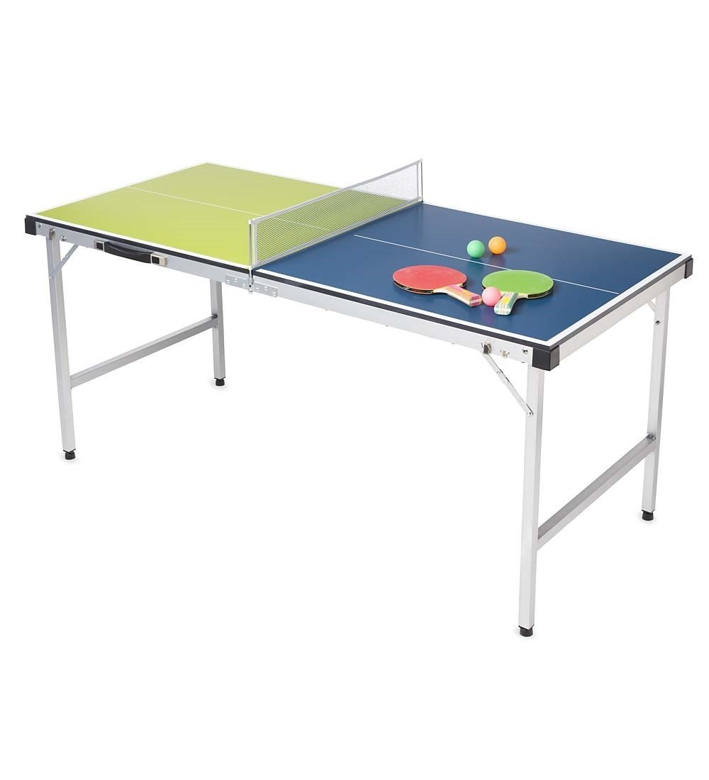 HearthSong® Pick-Up-and-Go Ping-Pong Table