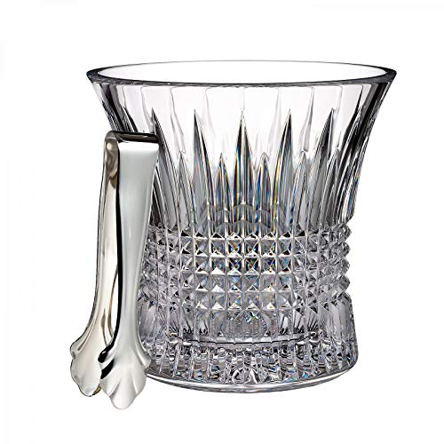 - The Original LISMORE Diamond ICE Bucket Tongs by Waterford -