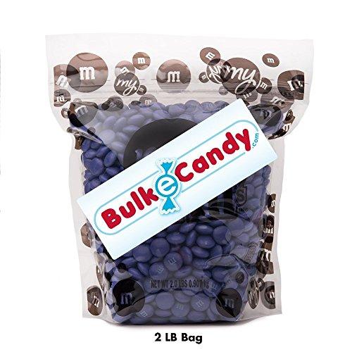 Purple M&M'S Bulk Candy Bag (2lb) ()