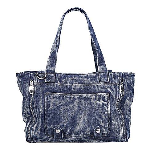 negro Cruz Hombres 2archer Super Bolso Azul Del De cuerpo Jeans Genda Lona wx8vBB