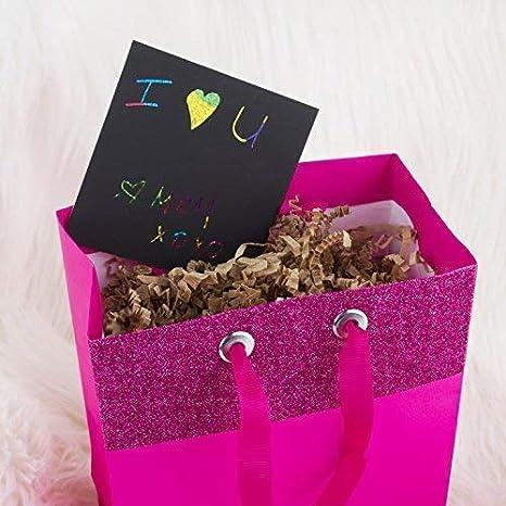 Escribir Listas Fondo ArcoirisHolografico Manualidades Mini Bloc de Notas M/ágico con de Purple Ladybug Novelty Incluye 2 L/ápices 150 Cartulinas Negras Rascables para Dibujar con Ni/ños