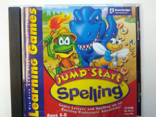JumpStart Learning Games- Spelling Ages 5-8 (CD-ROM)