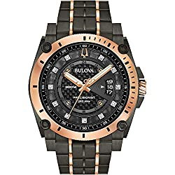 Bulova Men's Precisionist - 98D149 Black One Size