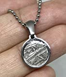 Shining Stones Gifts Meteorite pendant iron-nickel muonionalusta Seymchan with necklace, Gift, Amulet, Reiki