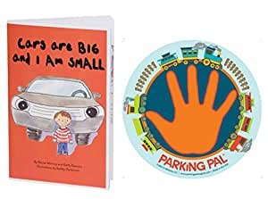 Parking Pal Car Magnet and Children's Safety Book Combo Pack (Train)
