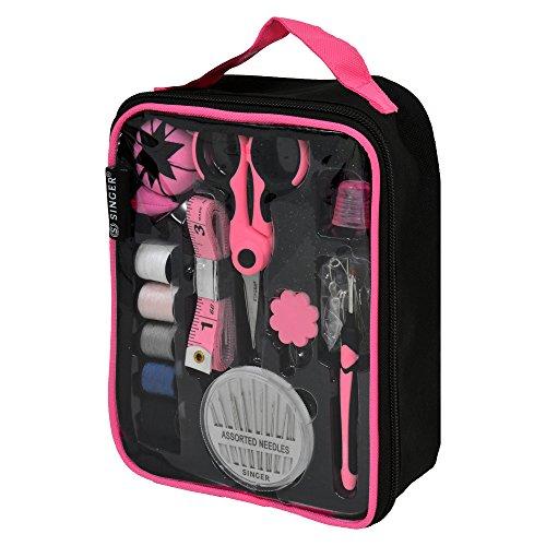 Singer 51530 Proseries Medium Pro Sewing Kit Tote In Designer Zippered Bag Includes Accessories, Series Starter Kit
