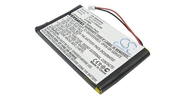 Amazon.com: 1150mAh X-Longer Batería GPS para Garmin Nuvi ...
