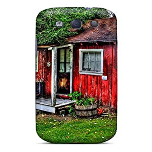 Awesome Cases Covers/galaxy S3 Defender Cases Covers(little Red House In The Country Hdr)
