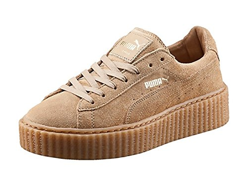 puma suede beige creepers