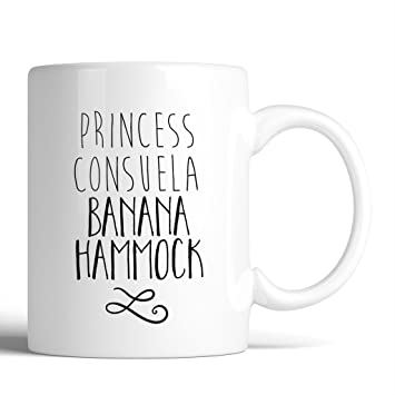 f r i e n d s princess consuela banana hammock matching 11oz ceramic coffee mug   birthday gift gift for amazon    f r i e n d s princess consuela banana hammock      rh   amazon
