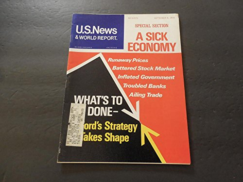 US News World Report Sep 9 1974 Sick Economy; Inflated Government
