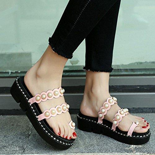 4 2 Zanpa Flatform Dolce Pink Donna Way Sandli 1qwaTfq