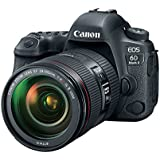 Canon EOS 6D Mark II DSLR Camera with EF 24-105mm USM Lens - WiFi Enabled (Certified Refurbished)
