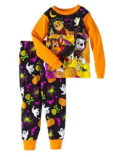 Paw Patrol Little Boys Girls Toddler Halloween Pajama Set (2T)]()