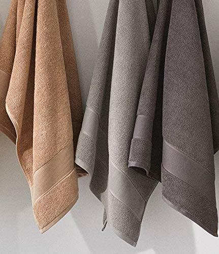 Ralph Lauren Sanders Towel 6 Piece Set Pewter Grey - 2 Bath Towels, 2 Hand Towels, 2 Washcloths