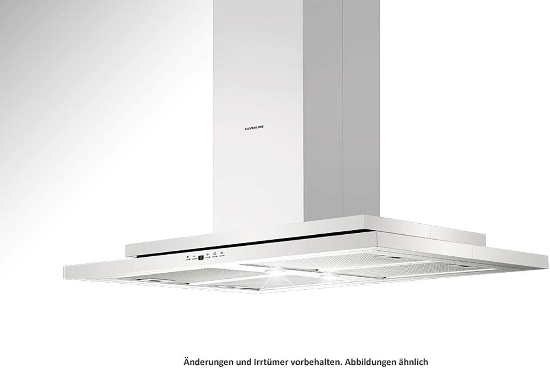 Silverline Trio Isola TRI 900 E - Cubierta para isla (acero inoxidable, 90 cm): Amazon.es: Grandes electrodomésticos