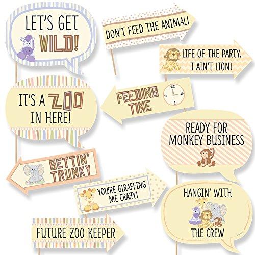zoo crew baby shower - 5