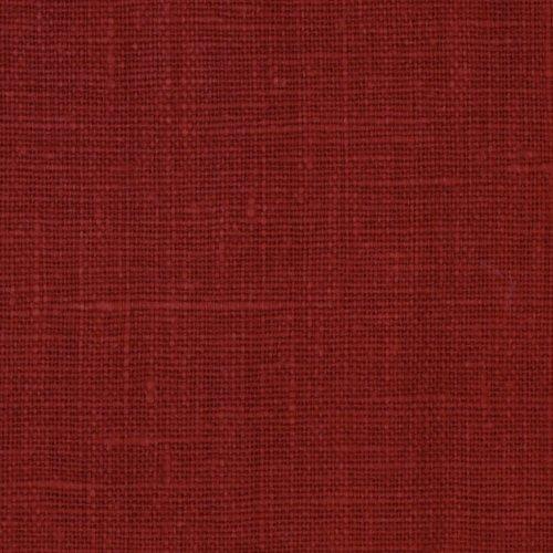 European Linen Fabric (European 100% Linen Red Oak Fabric By The Yard)