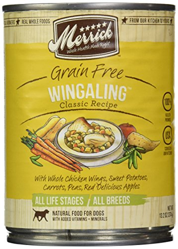 Merrick Canned Dog Food, 5-Star Wing A Ling 13.2oz.