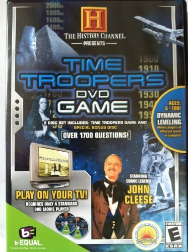 The History Channel Presents Time Troopers DVD Game Time Dvd Game