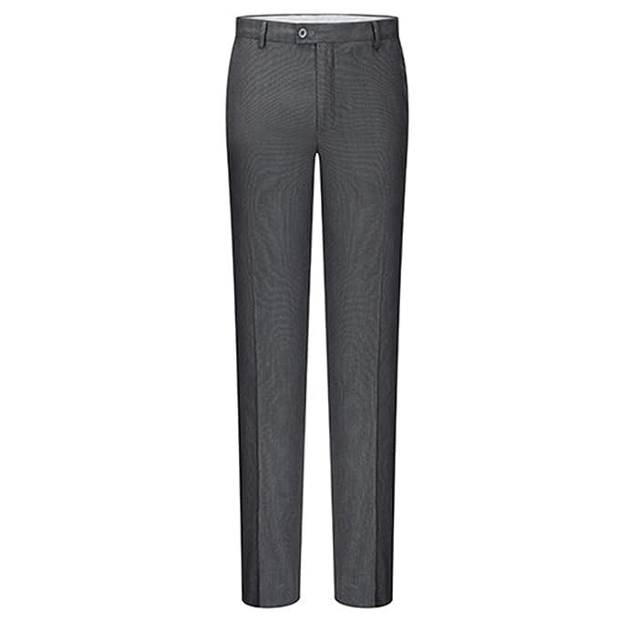 Amazon.com: Log Swit hombres de negocios clásica pantalones ...